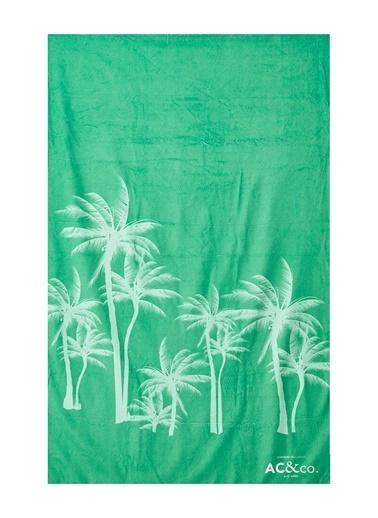 AC&Co / Altınyıldız Classics Yeşil Plaj Havlusu 4A5419200002 Yeşil